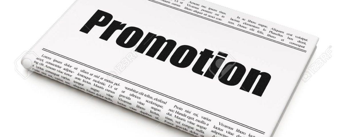 Promovare in presa