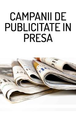 campanii de publicitate in presa